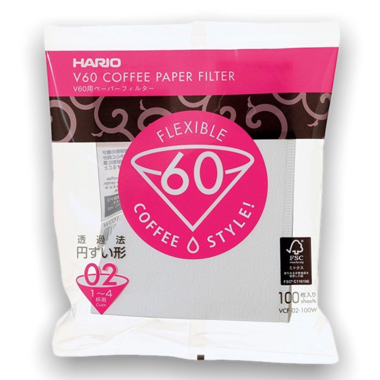 Hario papírové filtry V60-02 100 ks