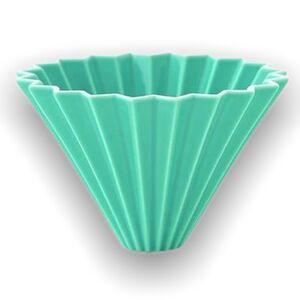 Origami keramický dripper M tyrkysový